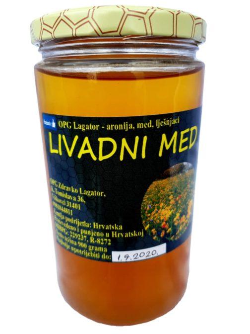 Livadni med 900 grama | Opg Lagator Slatki plodovi Đakovštine
